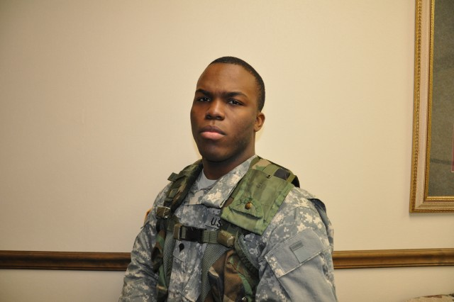 Pvt. Laron Ellis, 369th Adjutant General Battalion, said his wife and several other family members were in Haiti when the devastating earthquake struck Jan. 12.