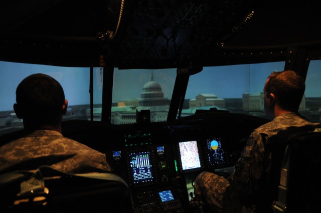 Flight simulator brings combat zones to Fort Bragg
