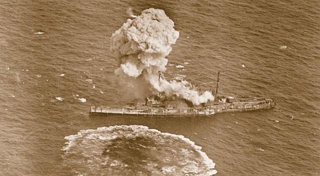 Ostfriesland - German battleship