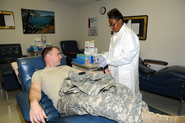 Fort Bragg Blood Donor Center helps Soldiers, Families take care of their own
