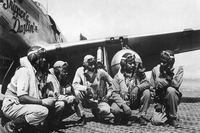 WWII Mustang pilots