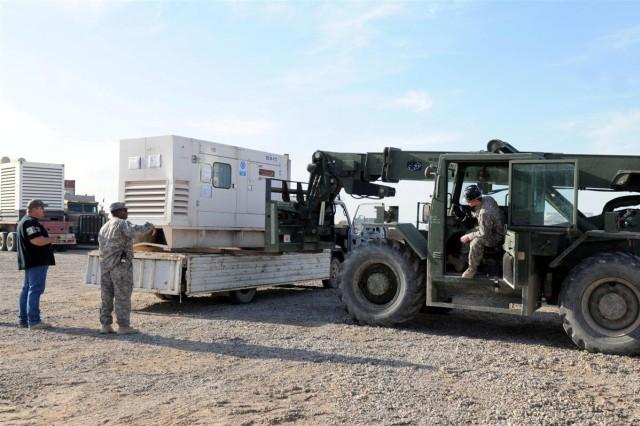 Operations company maintains presence at Basra during transition