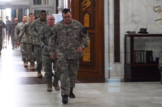 They're back: New group of wounded vets return to Iraq