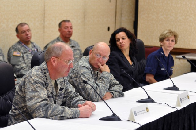 NGB, NORTHCOM discuss disaster response during hurricane workshop