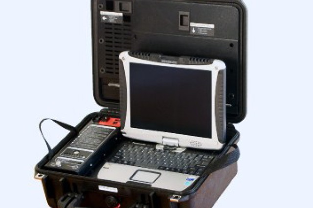 The GRRIP is a fully deployable communications center built over a secure satellite network. It is a small, mobile and relatively lightweight Secret Internet Protocol Router Network case capable of providing SIPRNET access for video conferencing, data and voice over satellite using the Broadband Global Area Network as well as through other network connections.