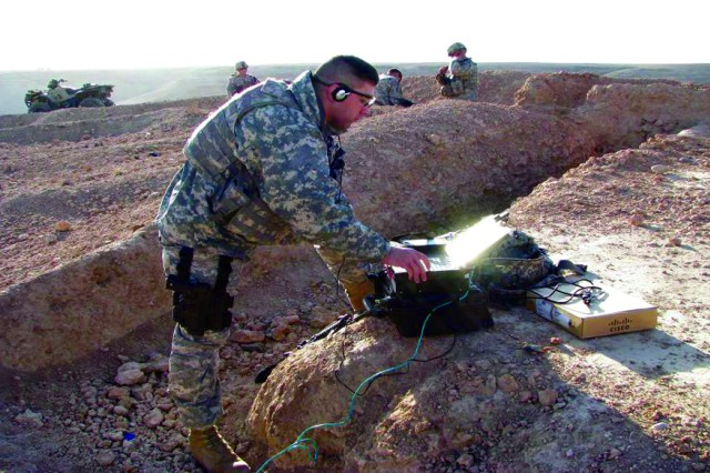 Very few brigades in the Army have been trained on the GRRIP, and the 86th is the first National Guard Brigade to receive this training. The GRRIP systems have been deployed to Afghanistan, so it was critical that the 86th were trained prior to arriving in country to ensure that they would be operational and effective immediately.