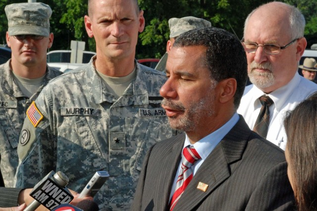 BG PAtrick Murphy and NY Gov. David Paterson