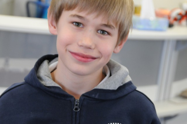 "Why is it important to help the children of Haiti in this time of need' ""They're a very poor country, and now they have nothing. If I were in a bad situation, I'd want the people of the world to help me."" Cameron James, Grade 4"
