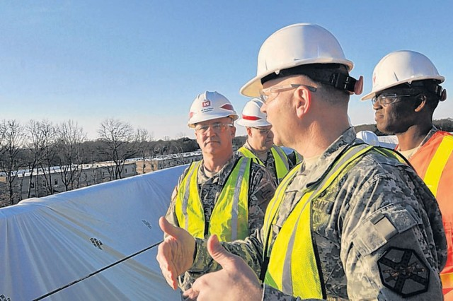 MDW commander visits new hospital site