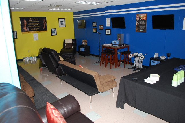 Overview of the new BOSS Zone in Benner Barracks.