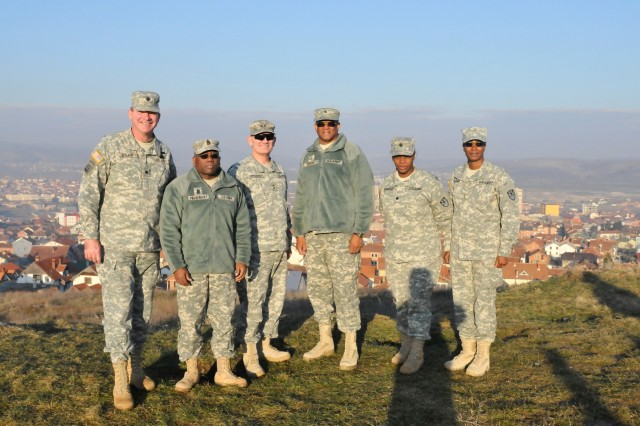 Virgin Islands National Guard commander concludes visit to Kosovo