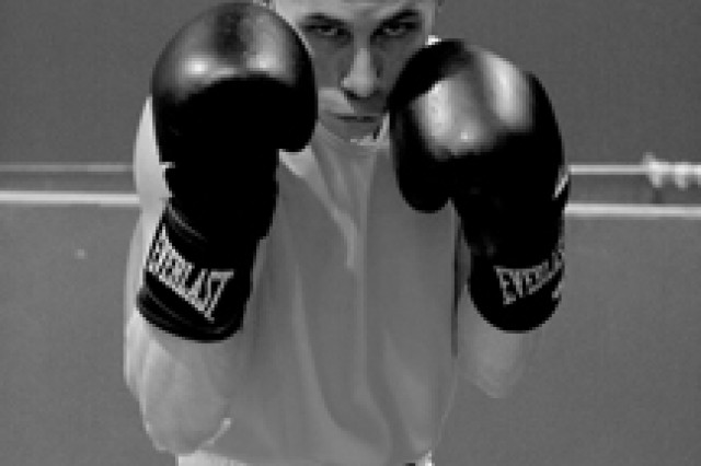Chad Reed is the most experienced member of Fort Polk's boxing team, having won a silver medal in the 2009 All-Army boxing tournament.