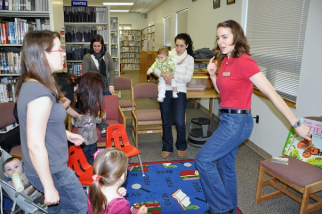 Story Time kicks off in Red Cloud library