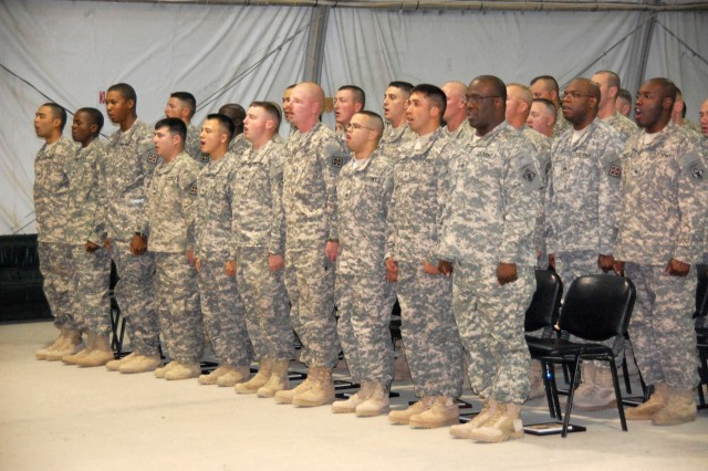 7th Engineer Battalion welcomes 20 Soldiers into Noncommissioned Officer Corps