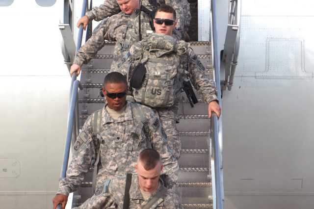 563rd Military Police Company returns from Iraq