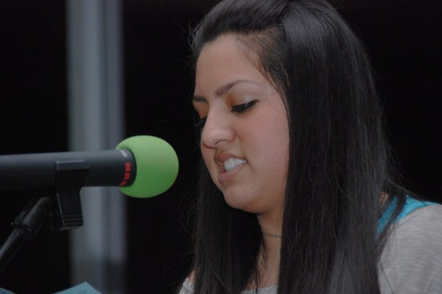 Alexa Rae Bocanegra slams the audience with a moving interpretation of her original poetry.