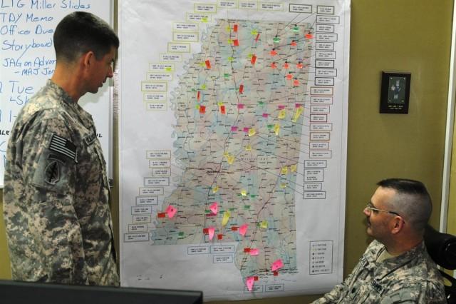 Combat Soldiers in Iraq prepare for stateside hurricanes