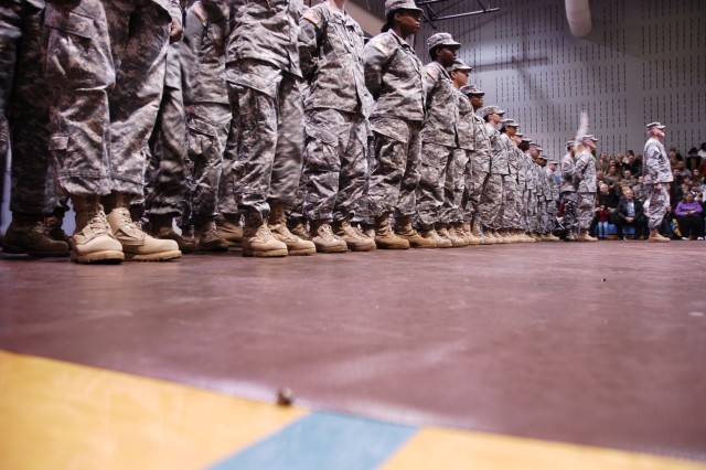 Georgia National Guard unit departs for Iraq