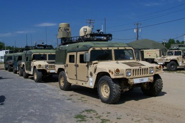 PM C4ISR OTM vehicles
