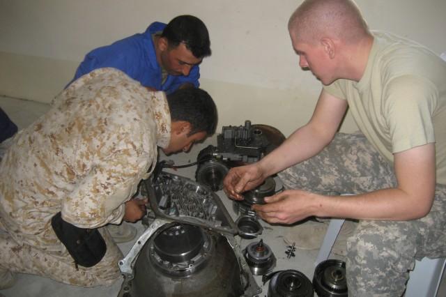 308th teaches Iraqi mechanics 'Pride in Performance'