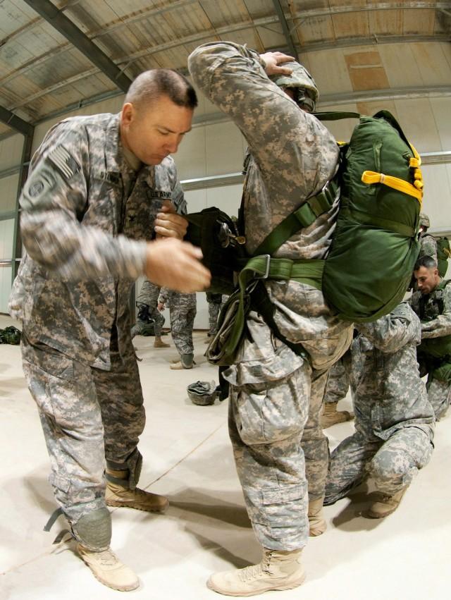 Airborne prepares for U.S-Iraqi combined training exercise