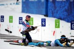Sergeant leads U.S. team with 24th place in biathlon pursuit