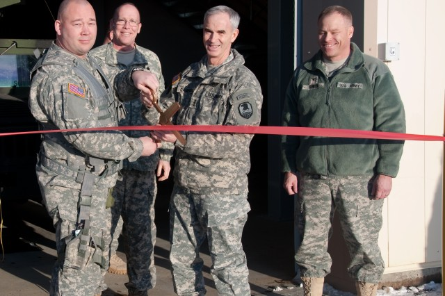 New Missile Defense Complex building opens