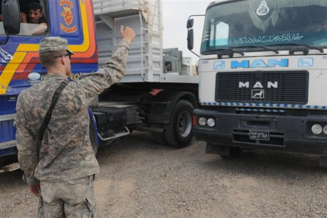 Commercial Movement Division manages Iraqi transportation companies