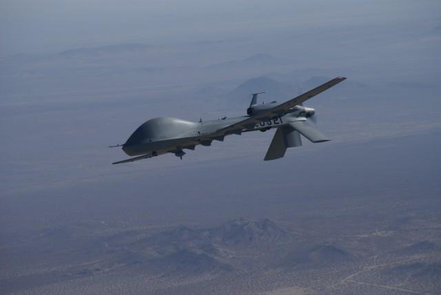 New Army ER/MP UAV Tests Advanced HELLFIRE Missile