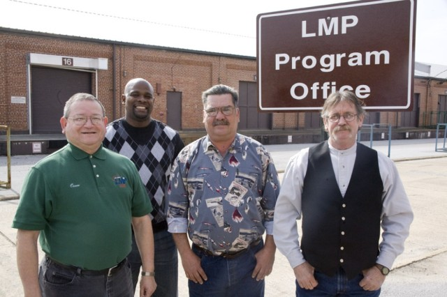CCAD personnel at ANAD for LMP support