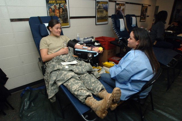 Echo/169th continues support with regular blood donations