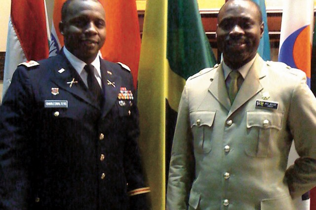 After 20 years, Jamaican officers reunite at CGSC
