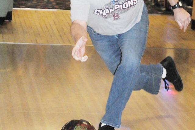 Hurricanes strike--intramural bowling season rolls along at Rucker Lanes