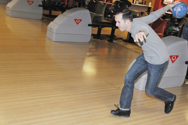 Hurricanes strike--intramural bowling season rolls along at Rucker Lanes