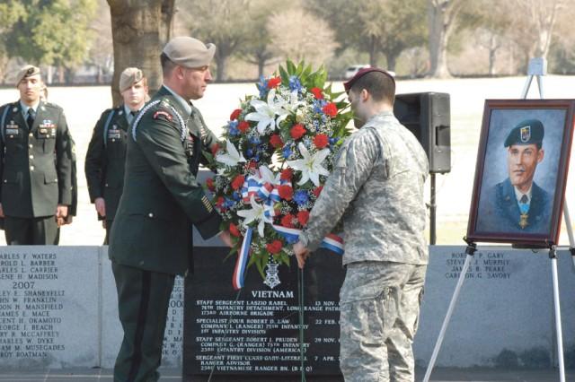 War hero, Ranger honored with memorial service