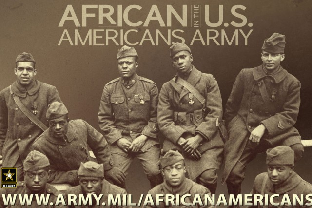 African Americans in the Army poster