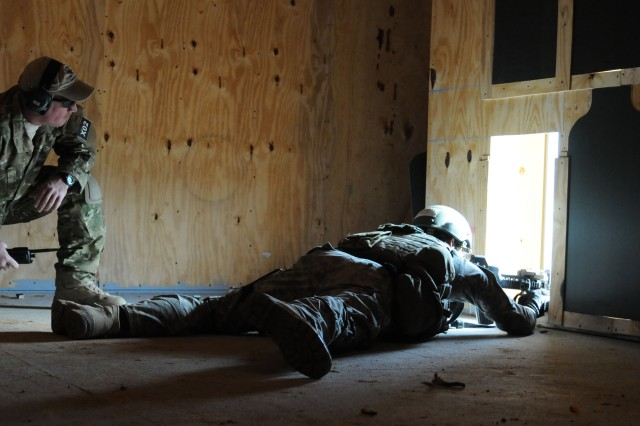 COMBAT OLYMPICS Range 37 at Fort Bragg tests skills of even the most experienced Green Beret