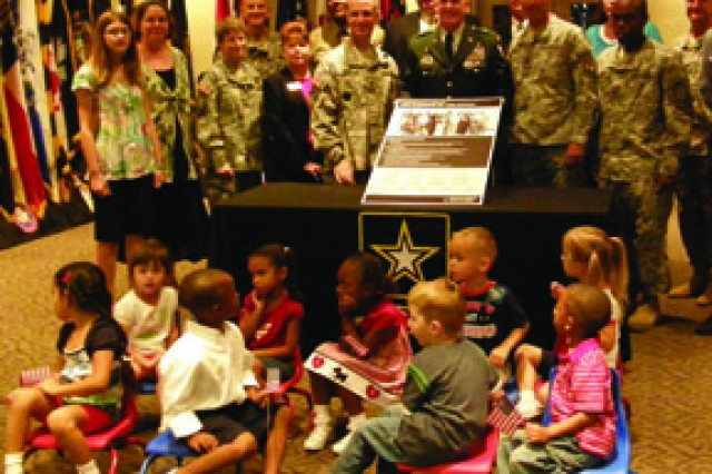 The Army Community Covenant was signed in September -- a symbol of the Army's commitment to Soldiers and Families.