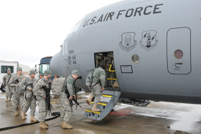 New York Army and Air Guard Work Together in Western New York