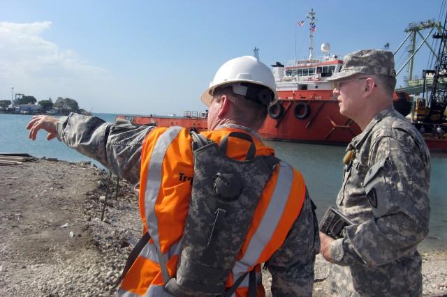 Haiti Sea Port of Debarkation operations