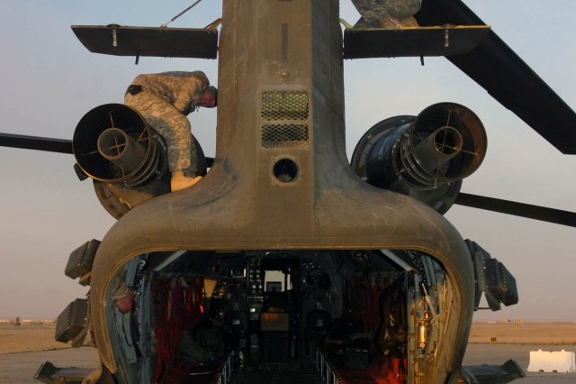 Hillclimbers handle TF Wing's 'heavy lifting' in northern Iraq