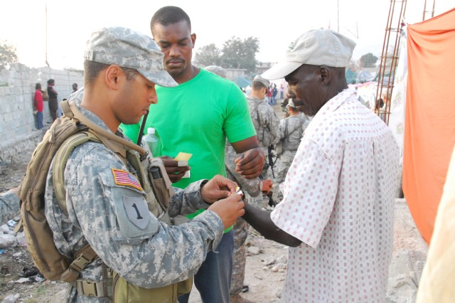 U.S. Special Operations Civil Affairs teams leverage diversity, creativity to complete missions in Haiti