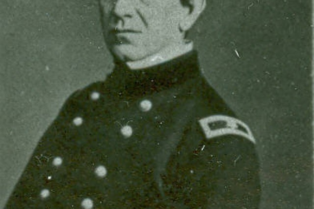 This image shows Union General Edward Richard Sprigg Canby circa 1862-1864 as a Brigadier General. As a Colonel, he commanded the Department of New Mexico, holding that terrioty for the Union and repulsing the Confederate invasion commanded by General Sibley. (MASS. MOLLUS Photograph collection).