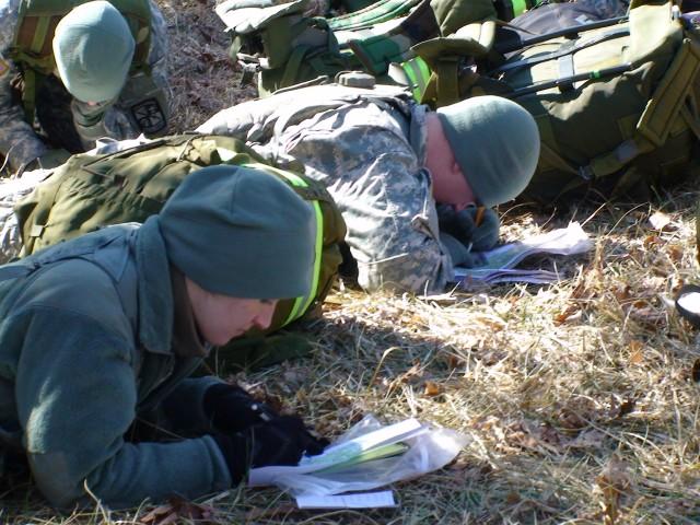 Cadets plot coordinates