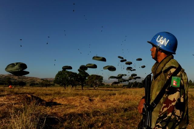 "Joint Task Force Aca,!"" Haiti awaits final World Food Program requirements"