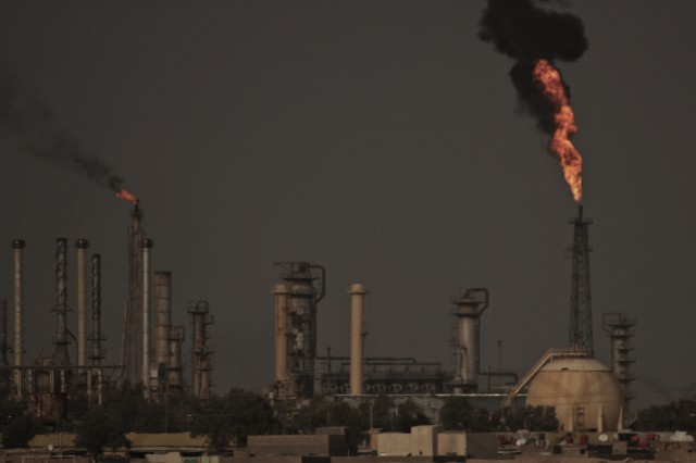 Shutting off the fires: conference proposes turning pollution into profit for Iraq