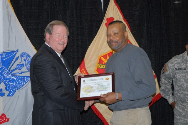 Garrison employees of the month recognized