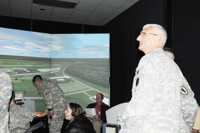 Hertling commends Fort Rucker on efforts here