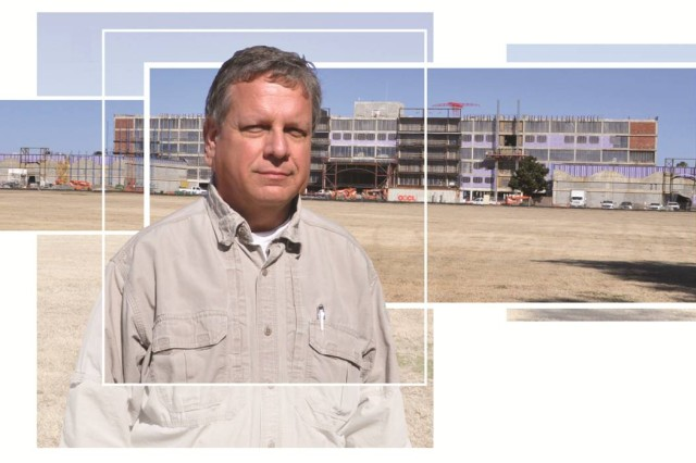 Folke Ahlquist was born on Fort Benning in 1952 and grew up in South Columbus while his father worked at the U.S. Army Marksmanship Unit.  Ahlquist is a project manager for the Army Corps of Engineers and a member of the team guiding the renovation of Building 4 on Main Post.