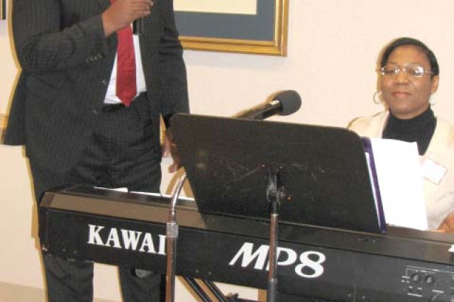 "Daniel Johnson, a retired Army lieutenant colonel and associate minster at the African Methodist Episcopal church in Rex, sings the duet ""Close to You,"" with his wife of 24 years, Janet Johnson, the Protestant choir director at the Fort Gillem Chapel. The song, originally performed by BeBe and CeCe Winans, was chosen by the two because Janet said it expresses all that the two feel for each other."